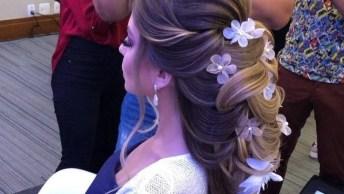 Lindo Penteado, Ideal Para Noivas Que Querem Entrar Na Igreja Arrasando!