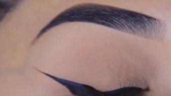 Mais Um Tutorial De Maquiagem De Dar Inveja, Confira O Resultado!