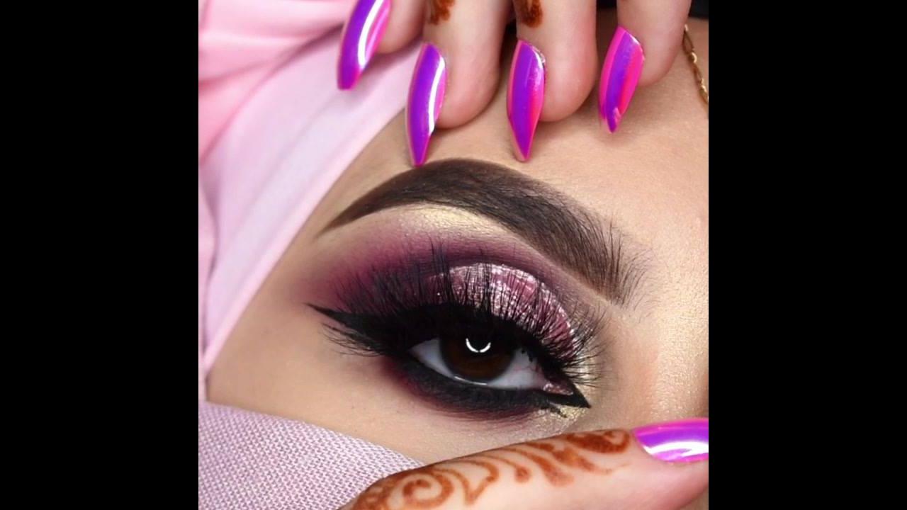 Maquiagem Árabe, simplesmente maravilhosa, confira e compartilhe!