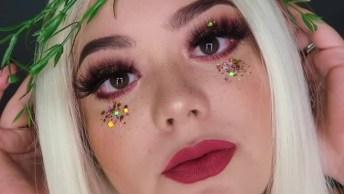 Maquiagem Artística Para Curtir Festas Com Estilo, Confira O Resultado!