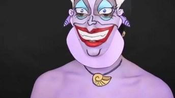 Maquiagem Artística Para Festa A Fantasia, Você Vai Adorar!