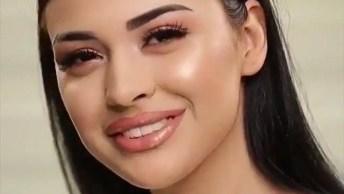 Maquiagem Bonita Que Toda Mulher Gosta, Muito Linda, Confira!