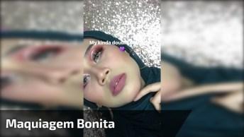 Maquiagem Bonita - Veja O Vídeo E Se Inspire Para Fazer Sua Make!