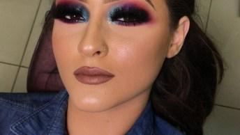 Maquiagem Colorida Nos Olhos Que Vai Te Conquistar, É Linda Demais!