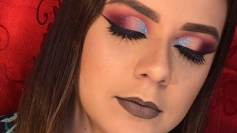 Maquiagem Colorida Para Carnaval, Qual Amiga Combina Com Essa?