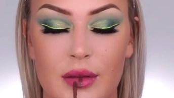 Maquiagem Colorida Para Ficar Linda, Você Vai Amar Essas Cores!