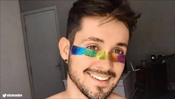 Maquiagem Colorida Para O Carnaval, Serve Para Homens E Mulheres!