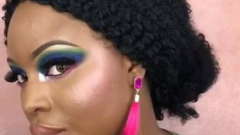 Maquiagem Colorida Para Pele Morena, Por Que Toda Mulher Merece Cores!