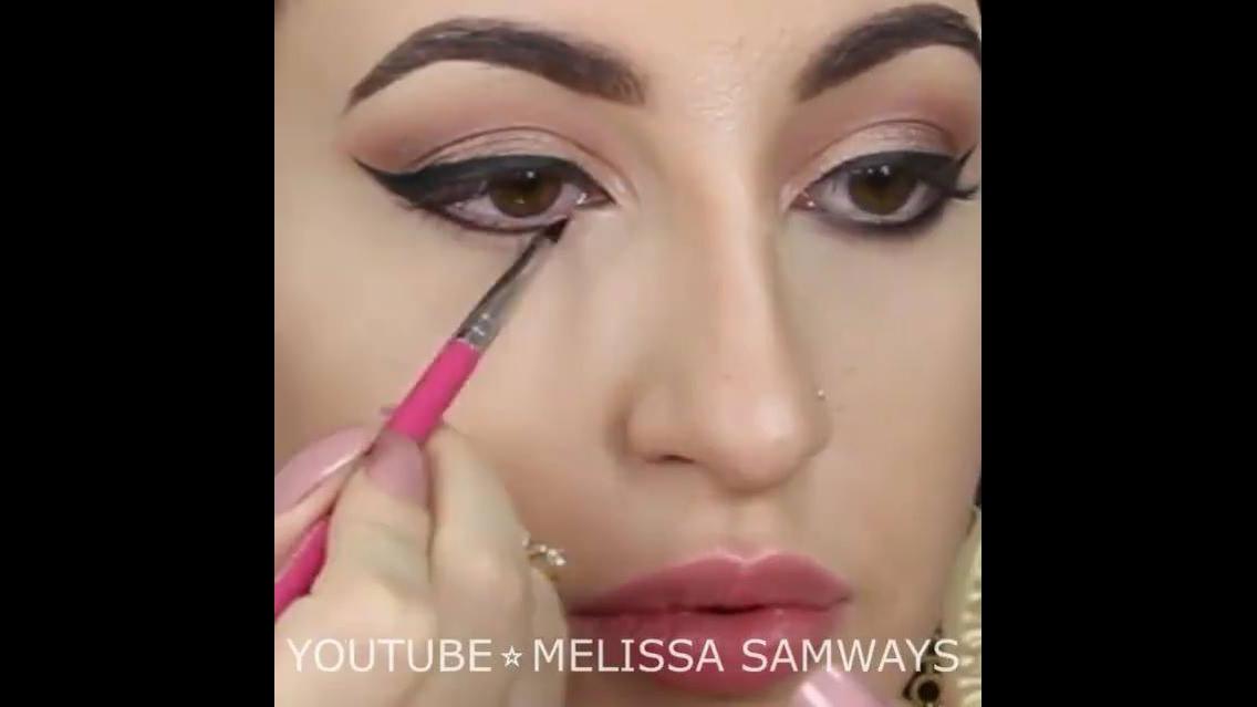 Maquiagem com batom rosa claro, um luxo de make para você arrasar!