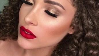 Maquiagem Com Batom Vermelho Arrasante, Mais Um Vídeo Que Precisa Conferir!