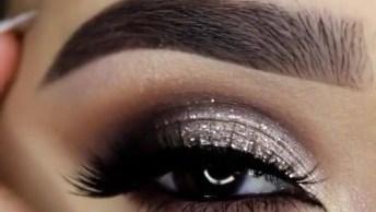 Maquiagem Com Brilho Para Curtir A Balada, O Resultado É Maravilhoso!