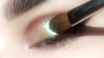 Maquiagem Com Brilho, Uma Make Perfeita Par Usar Anoite!