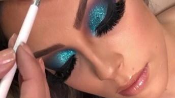 Maquiagem Com Cor Incrível, Impossível Não Amar Essa Make!