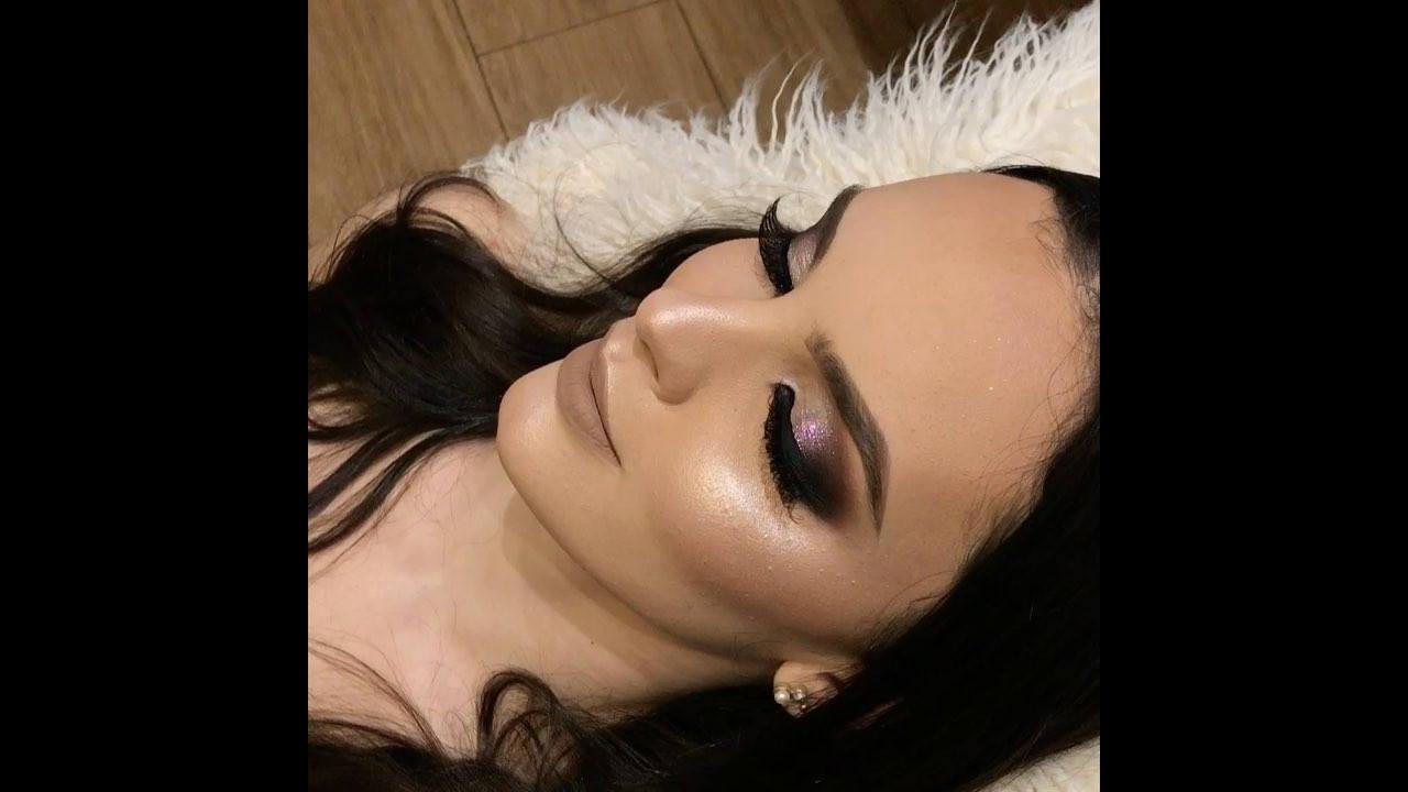 Maquiagem com cor maravilhosa