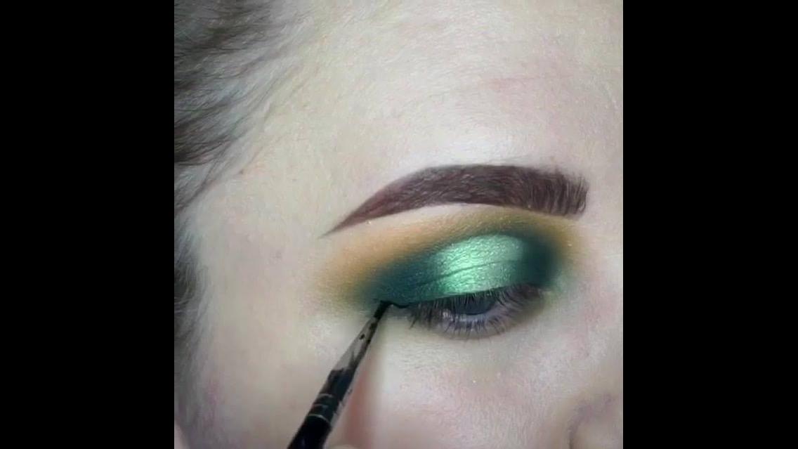 Maquiagem com cores lindas, você vai se apaixonar com essa make!