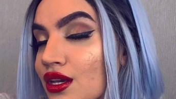 Maquiagem Com Delineado, Uma Das Mais Usadas Pelas Mulheres Que Amam Make!