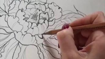 Maquiagem Com Flores - Aquelas Que Agradam A Todas As Mulheres!