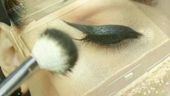 Maquiagem Com Iluminador, O Resultado Fica Muito Bonito!