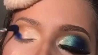 Maquiagem Com Olhar Marcante E Boca Nude - Uma Make Sensacional!