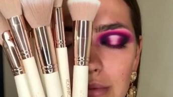 Maquiagem Com Olho Bem Carregado, Para Uma Ocasião Especial!