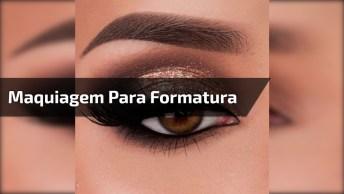 Maquiagem Com Olho Bem Trabalhado Para Festa De Formatura!