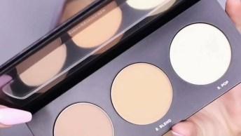 Maquiagem Com Olhos Destacados E Boca Pálida, Mais Uma Ideia Para Você Arrasar!