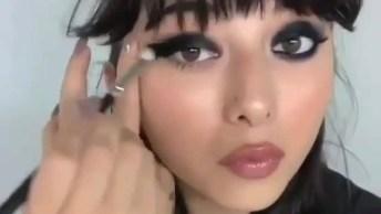 Maquiagem Com Olhos Esfumados, Uma Make Que Combina Com Qualquer Ocasião!