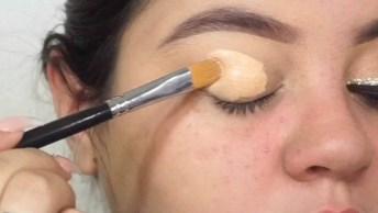 Maquiagem Com Olhos Marcantes, Essa É Para Te Conquistar De Vez!
