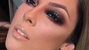 Maquiagem Com Olhos Marcantes, Mais Uma Que Encanta A Gente!