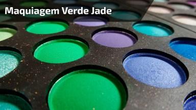 Maquiagem Com Olhos Na Cor Verde Jade Simplesmente Perfeita!