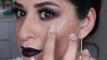 Maquiagem Com Pele Iluminada, Mais Uma Para Você Colecionar!