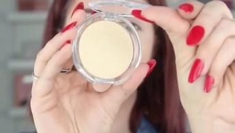 Maquiagem Com Pele Trabalhada, E Olhos E Lábios Mais Simples!