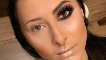 Maquiagem Com Pigmento, Mais Um Vídeo De Maquiagem Que Ficou Linda!