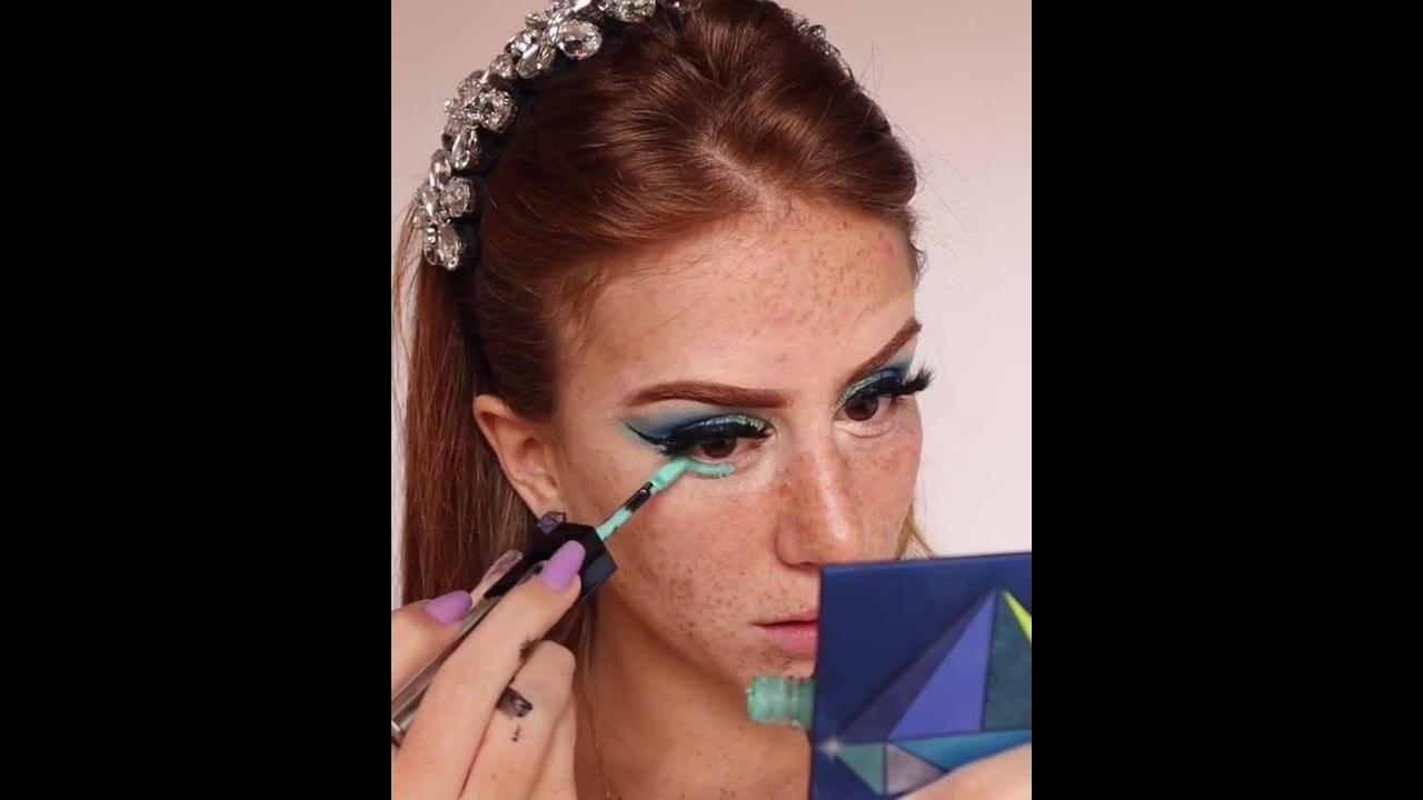 Maquiagem com resultado maravilhoso