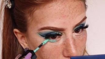 Maquiagem Com Resultado Maravilhoso, Essa É Para Arrasar Mesmo!