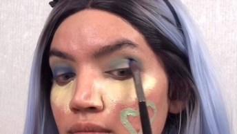 Maquiagem Com Sombra Diferente, O Resultado É Lindo Demais!