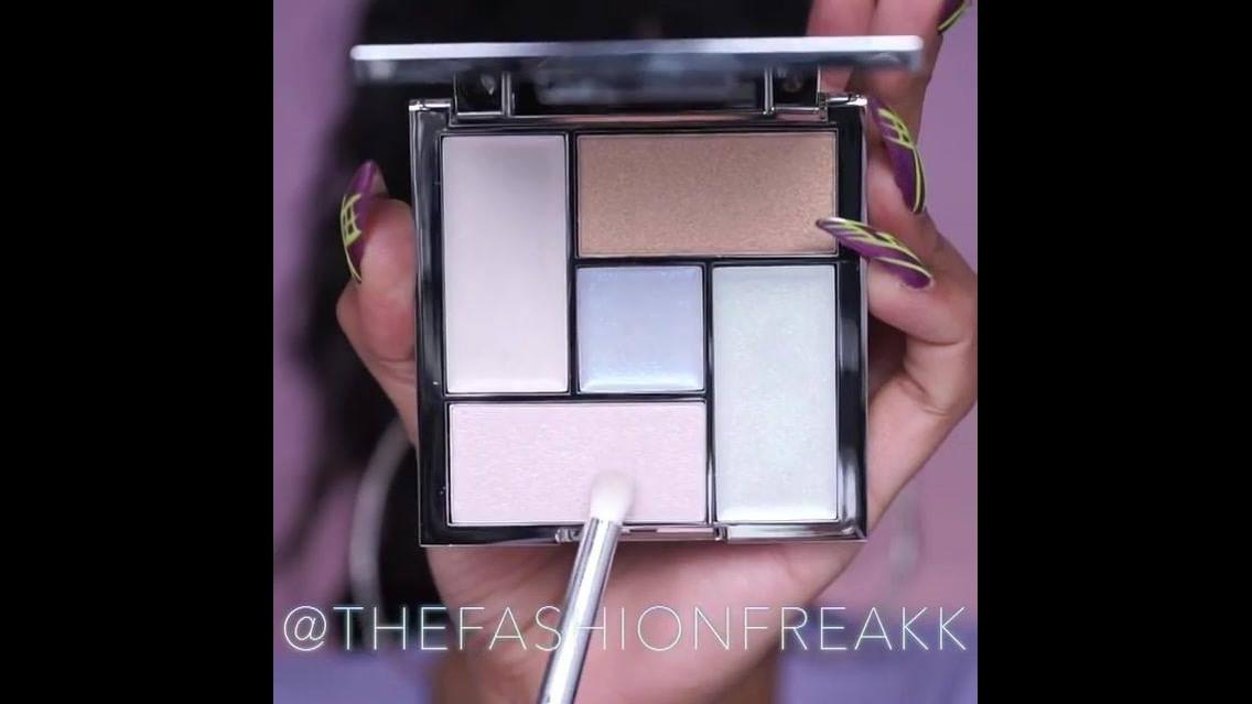Maquiagem com sombra e batom com cores incríveis