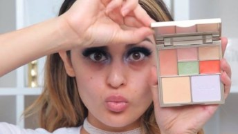 Maquiagem Com Sombra Lilás, Mais Uma Para Você Se Apaixonar!