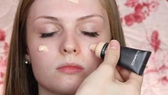Maquiagem Com Sombra Rosa, Mais Uma Que Você Vai Se Apaixonar!