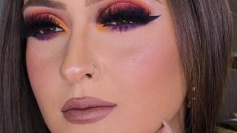 Maquiagem Com Técnica Para Deixar Cor Em Degradê, Fica Linda!