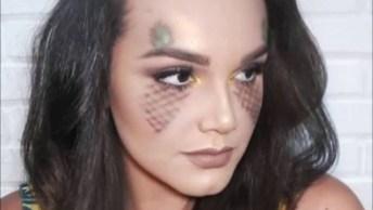 Maquiagem Com Tema De Abacaxi, Para Variar Na Hora De Sair!