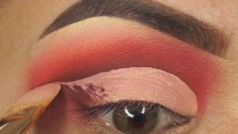 Maquiagem Com Tom Avermelhado, Uma Linda Opção Para Você!