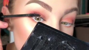 Maquiagem Completa Com Efeito Natural, Olha Só Como Fica Delicada!