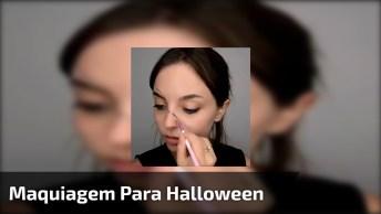 Maquiagem De Boneca Quebrada Para Noite De Halloween, Confira!