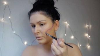 Maquiagem De Caveira Mexicana Para Halloween, Olha Só Que Linda!