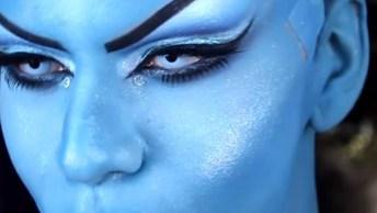 Maquiagem De Drag Queen Inspiradas Em Personagens Da Disney, Que Perfeição!
