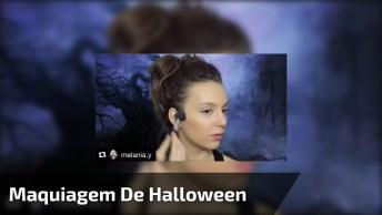 Maquiagem De Halloween Femininas Passo A Passo, Simples E Arrasador!