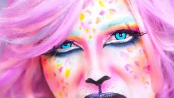 Maquiagem De Leopardo Fashion - Impossível Não Arrasar Com Essa Make!