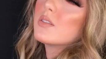 Maquiagem Deslumbrante, Veja Como Ela Ficou Linda Com Essa Make!
