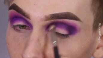 Maquiagem Diferente Para Ir Em Um Lugar Diferente, Confira!